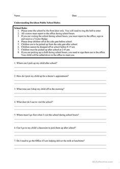 giving directions instructions pinterest worksheets education and esl. Black Bedroom Furniture Sets. Home Design Ideas