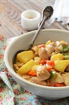 Pina Colada Chicken Recipe #paleo