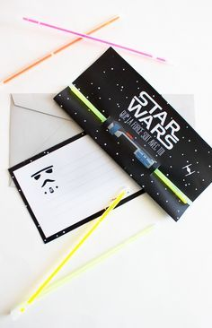 Invitación fiesta star wars // Star wars party invite (french)