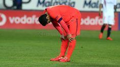 Iniesta says draw isn't the end of the world. Sevilla FC v FC Barcelona | FC Barcelona (http://www.fcbarcelona.com/football/first-team/detail/article/iniesta-says-draw-isn-t-the-end-of-the-world)