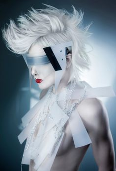 ideas fashion editorial makeup avant garde ideas for 2019 Moda Cyberpunk, Cyberpunk Fashion, Fashion Art, Editorial Fashion, Trendy Fashion, Fashion Design, Beauty Editorial, High Fashion, Fashion Ideas
