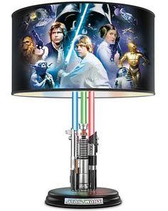 NEW Star Wars Original Trilogy Lamp Illuminated Lightsabers Fx Saber Light Decor