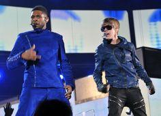 Usher and Biebs