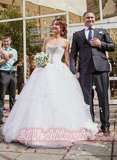 Sweetheart Ball Gown Wedding Dresses,Back Up Lace Wedding Gowns http://21weddingdresses.storenvy.com/products/15686109-sweetheart-ball-gown-wedding-dresses-back-up-lace-wedding-gowns