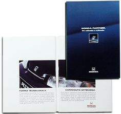 CLIENTE Honda Italia. Comunicazione B2B #tecnologia #corporate #grafica #impaginazione