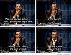 How dare you speak to me - Jeff Goldblum