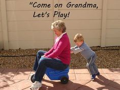 Let's play, grandma!