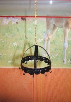 how to: mini hanging pot rack