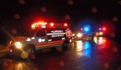 Volcadura deja 9 lesionados en carretera a La Perla - Camargo   El Puntero