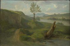 Alexandre-François Desportes - River Landscape. The Met.