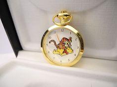 Colibri Winnie The Pooh Tigger Necklace Watch Charm