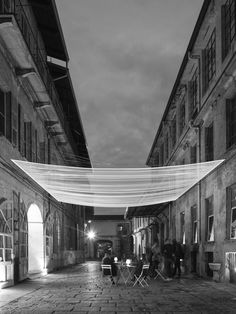 Every two years Sella Onlus Foundation gives the opportunity to ten architects under 30 to work inside of an old wool mill, property of Sella family. The old mill, in rather decaying conditions, is composed of several attached buildings, all different and