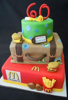 Three+tier+McDonald_s+and+traveling+theme+60th+birthday+cake.JPG (439×640)