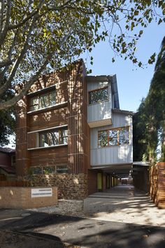 Original Timber Screens Adorning Sustainable Townhouse in Australia