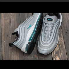 lowest price 74d01 e5ede Nike Shoes   Nike Air Max 97   Color  Blue Gray   Size