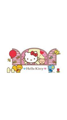 Sanrio Wallpaper, Hello Kitty Wallpaper, Iphone Wallpaper, Hello Kitty Pictures, Kitty Images, Camo Wedding Cakes, Dragon Cakes, Hello Kitty Cake, Hello Kitty Collection