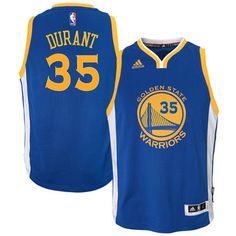 04ebd70da22 Youth Golden State Warriors Kevin Durant adidas Royal Road Swingman  climacool Jersey  2017NBAFinals  Champions  WarriorsWeek  DubNation   NBAFinals ...