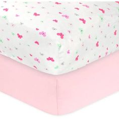 Child of Mine by Carter's Little Birds and Friends Fitted Crib Sheet, 2pk $14.84