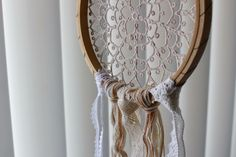 tatted lace Dreamcatcher