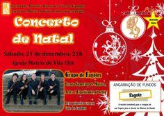 Concerto de Natal > 21 Dezembro 2013 - 21h00 @ Igreja Matriz, Vila Chã, Vale de Cambra #ValeDeCambra #VilaChaVLC #natal