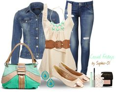 """""""Casual Fridays..."""" by sophie-01 ❤ liked on Polyvore"""