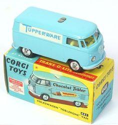 "Corgi Toys Code 3 VW ""Tupperware"" Van"