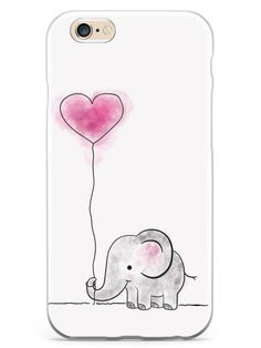 Adorable Elephant Case for iPhone 6 Plus