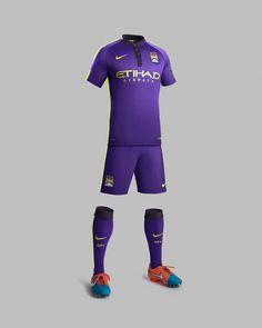 Man City football kits