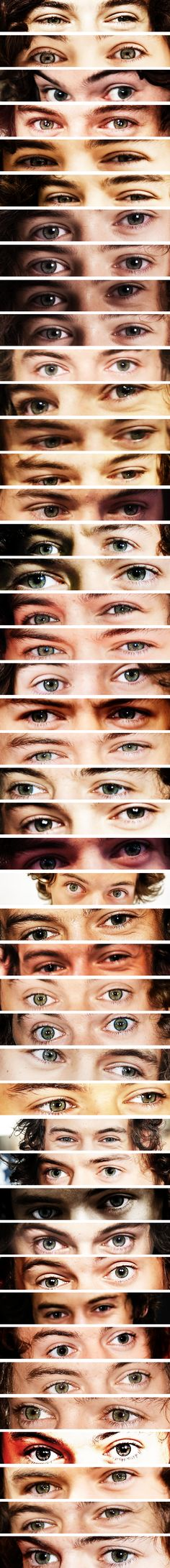 WHO MADE THIS MASTER POST OF HARRY STYLES'S EYES.