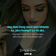 Tagalog Quotes Hugot Funny, Memes Tagalog, Pinoy Quotes, Tagalog Love Quotes, Wise Quotes, Qoutes, Motivational Quotes, Inspirational Quotes, Hugot Lines Tagalog