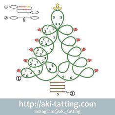 No photo description available. Tatting Earrings, Tatting Jewelry, Tatting Lace, Shuttle Tatting Patterns, Needle Tatting Patterns, Crochet Patterns, Tree Tat, Tatting Tutorial, Vintage Sewing Machines