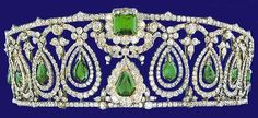 Rosse Tiara, UK (emeralds, diamonds).