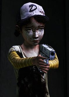 the walking dead clementine gif - Google Search
