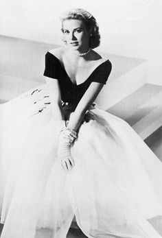 Grace Kelly in Dior #CelebrateSparkle
