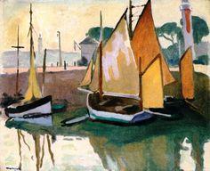 The Port of La Rochelle, Low Tide Albert Marquet - Albert Marquet — Wikipédia Henri Matisse, Art Français, France Art, Post Impressionism, Paintings I Love, Art Plastique, Art Reproductions, Painting & Drawing, Van Gogh