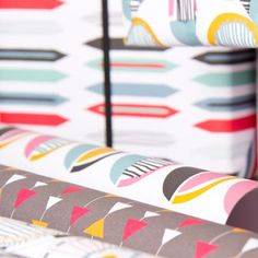 Gift wrap paper prints by Diane Allan.