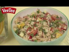 Danielle's Warm Summer Salad | Rice recipes from VeeTee - http://www.bestrecipetube.com/danielles-warm-summer-salad-rice-recipes-from-veetee/