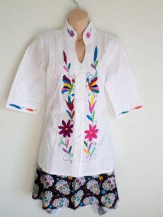 Beautiful Otomi blouse
