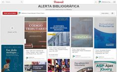 Alerta Bibliográfica de la Biblioteca en Pinterest
