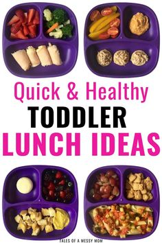 Toddler meals 512917845064280279 - Quick and healthy toddler lunch ideas. Easy toddler meals for lunch for home, for daycare, or for school. Simple toddler meals for picky eating 1 year olds, 2 years olds, and 3 year olds. Source by savingmamassanity Healthy Toddler Lunches, Picky Toddler Meals, Toddler Snacks, Kids Meals, Lunch Ideas For Toddlers, Toddler Dinners, Easy Meals, 1 Year Old Meals, 1 Year Old Meal Ideas