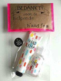 Niet alleen leuk om te krijgen, maar ook om te geven. #HEMA #bedankt #DIY #cadeau