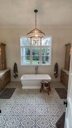 Master Bath Tile, Rustic Master Bathroom, Bathroom Design Small, Master Bedroom Design, Bath Design, Bathroom Interior Design, Basement Bathroom, Bathroom Ideas, Dream Bathrooms