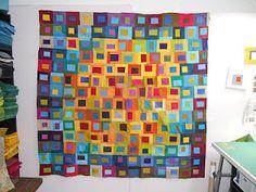 A gorgeous quilt by Gail Baar.