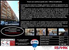Appena Messo in Vendita Bari, via Silvestro Sasso Appartamento Trivani con Cantina e Posto Auto Locato con buona rendita fino a giugno 2016 www.remax.it/20031050-569 info 348 7340665