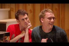 Matt and Jason's faces!!! Studio C