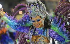 Second night of Rio de Janeiro's Carnival 2012   Segunda noite de desfile no Rio de Janeiro Carnaval 2012