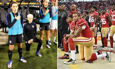 US Soccer lashes out at gay star Megan Rapinoe for anthem protest