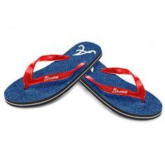 Atlanta Braves Women's Glitter Flip Flop Sandals