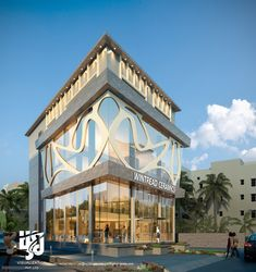 Visualization is expert in architectural rendering, walkthrough, architecural visualization, animation, interior design and realistic rendering Cultural Architecture, Sacred Architecture, Architecture Design, Office Building Architecture, Building Exterior, Building Design, Building Ideas, Craftsman Exterior, Cottage Exterior