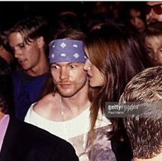 """juderose: City, Axl Rose With Stephanie Seymour At MTV Awards. """" When you're at a party and remember you have an exam tomorrow Guns N Roses, 80s Hair Metal, Rose Williams, Stephanie Seymour, Universal City, Axl Rose, Rock Legends, Gorillaz, The Duff"""